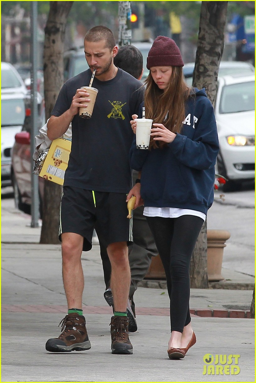 shia labeouf mia goth crave their morning coffee 01