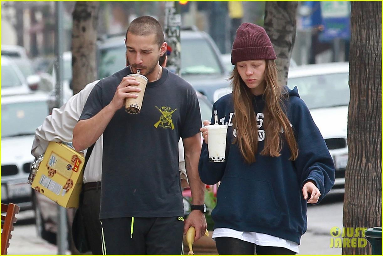 shia labeouf mia goth crave their morning coffee 042886014