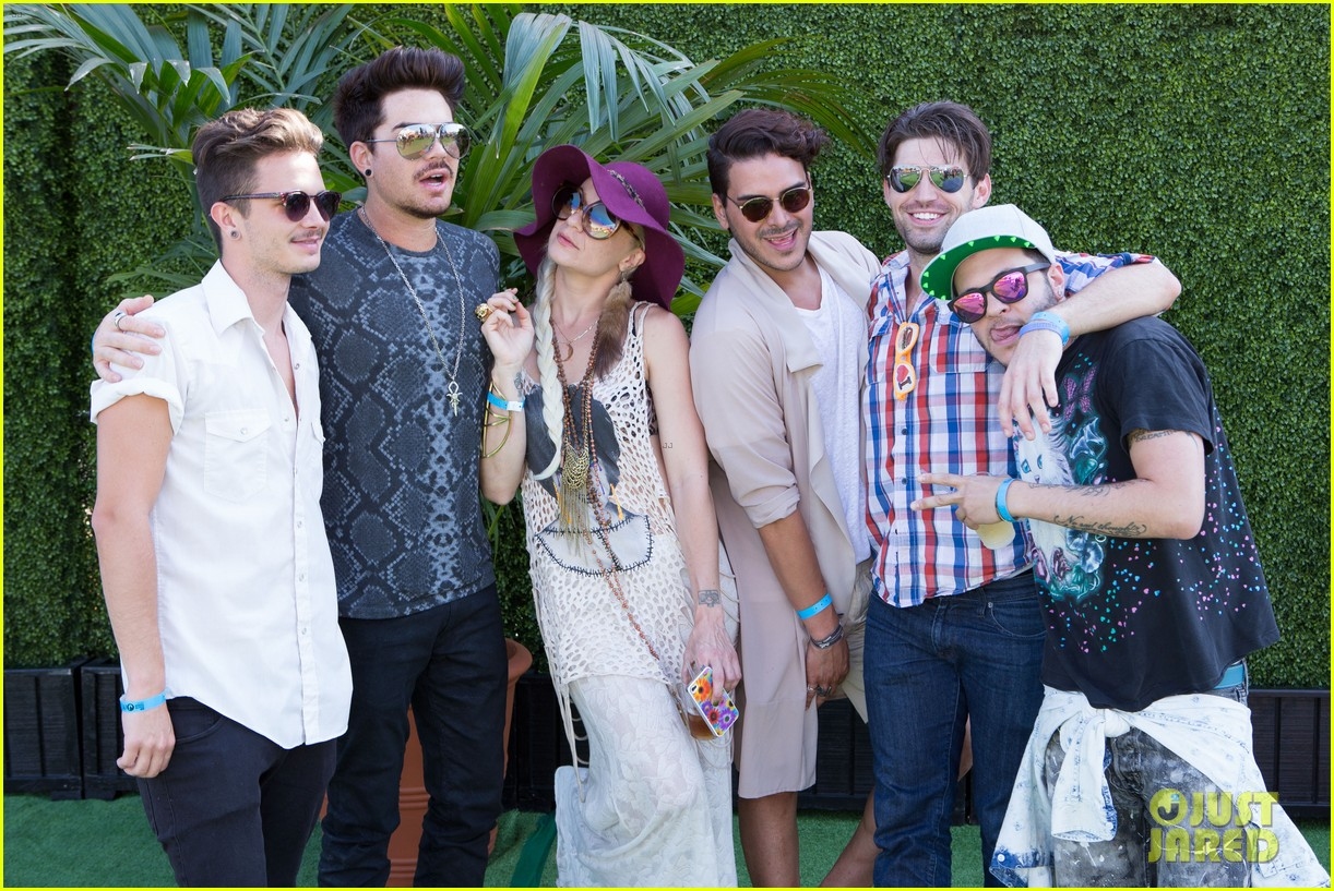 adam lambert hammer time at just jared summer kick off party presented by mcdonalds 172883195