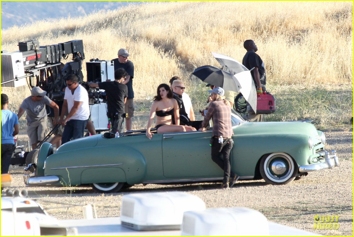 lana del rey music video bikini babe 25