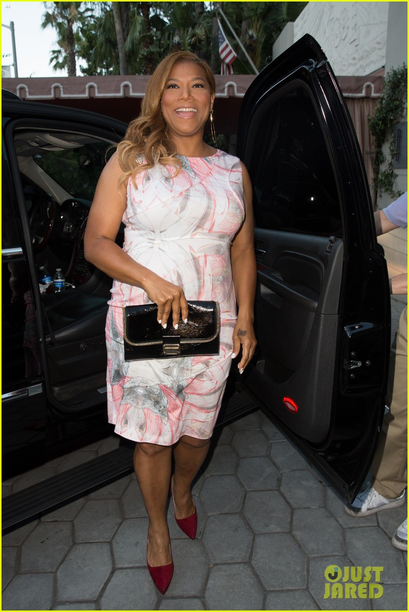 queen latifah promotes talk show at sunset tower 012899708