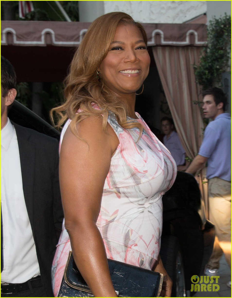 queen latifah promotes talk show at sunset tower 02