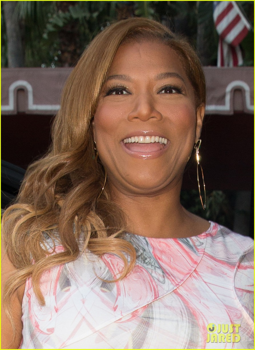 queen latifah promotes talk show at sunset tower 032899710