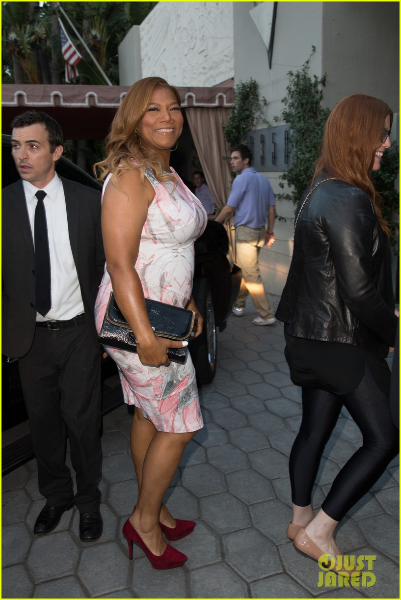 queen latifah promotes talk show at sunset tower 042899711