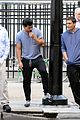 taylor lautner sweats it out for tracers in queens 16