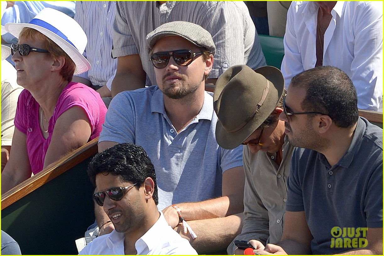 leonardo dicaprio watches rafael nadal beat novak djokovic 062886579