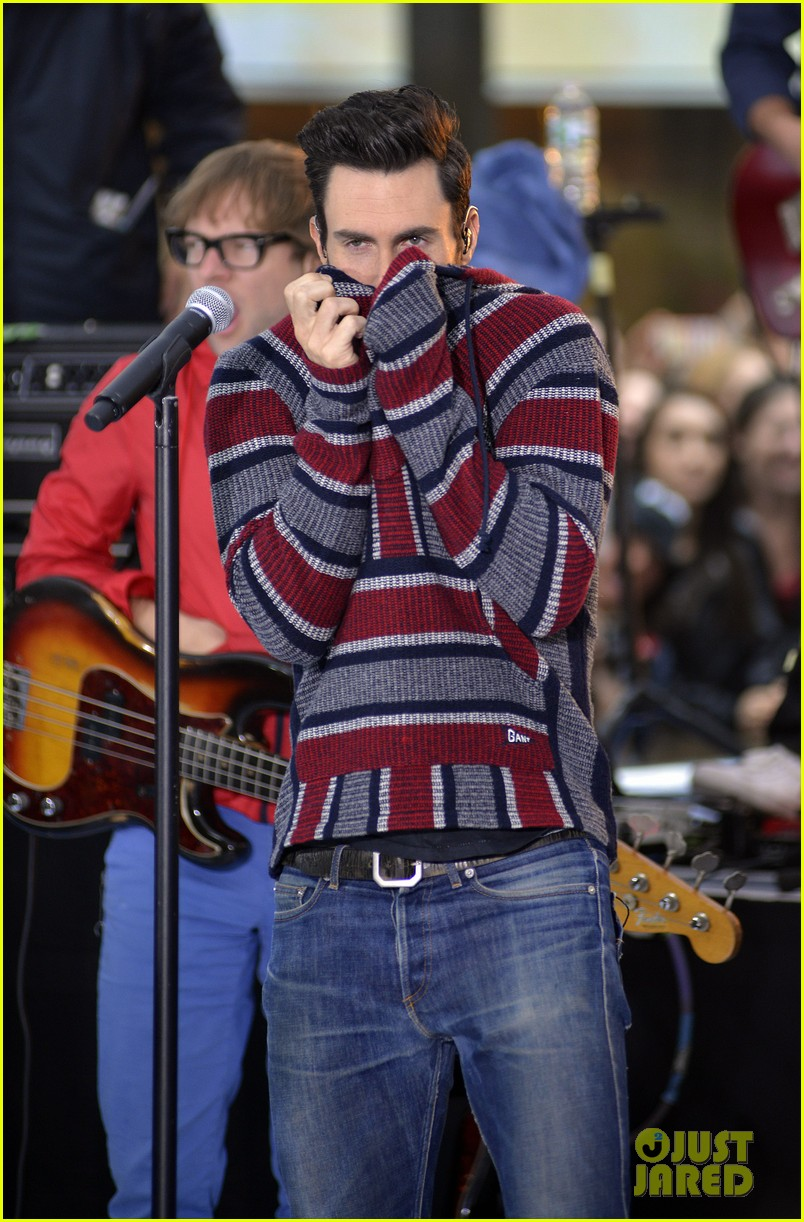 adam levine maroon 5 today show performance 062891318