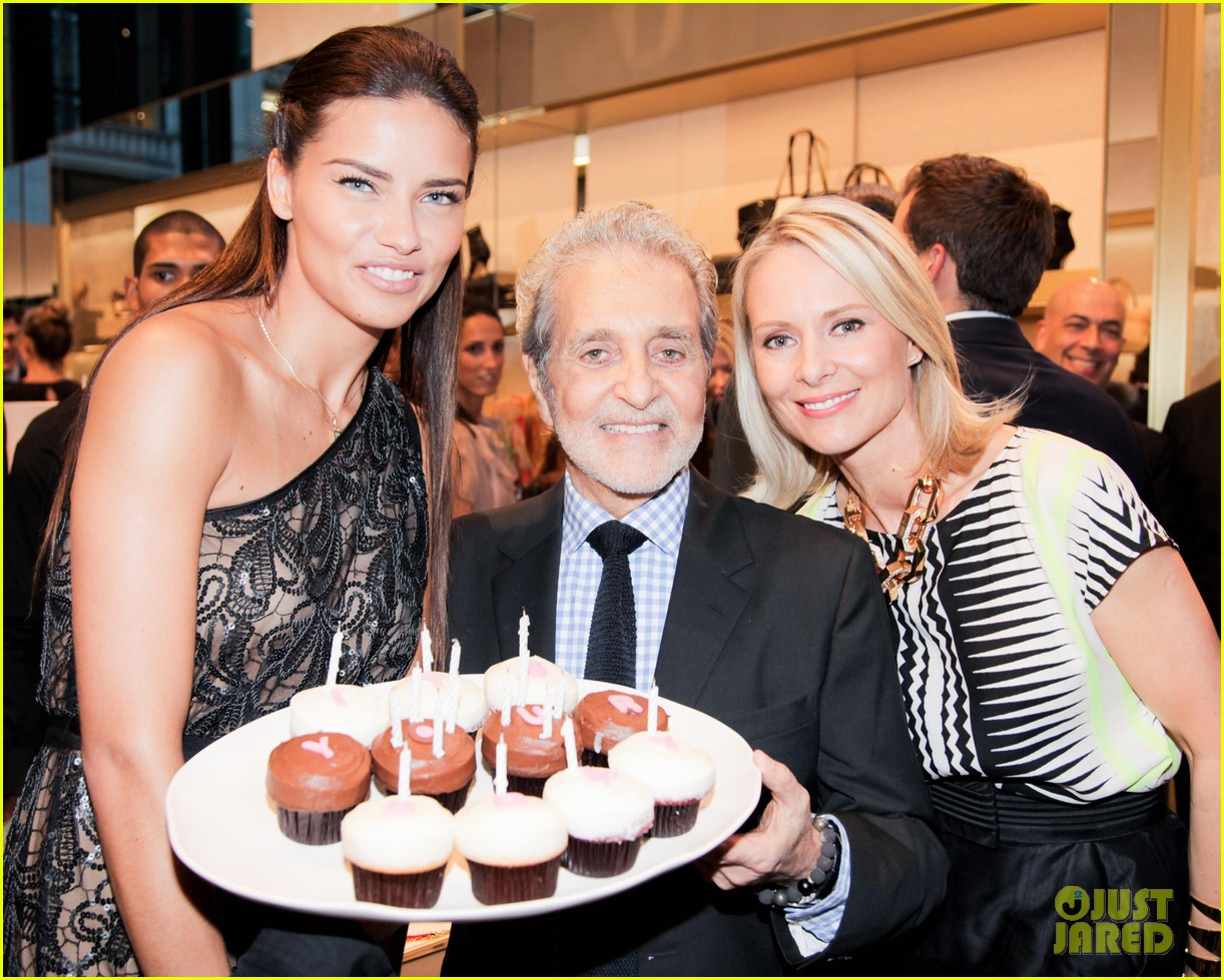 adriana lima birthday at vc store opening 052889850