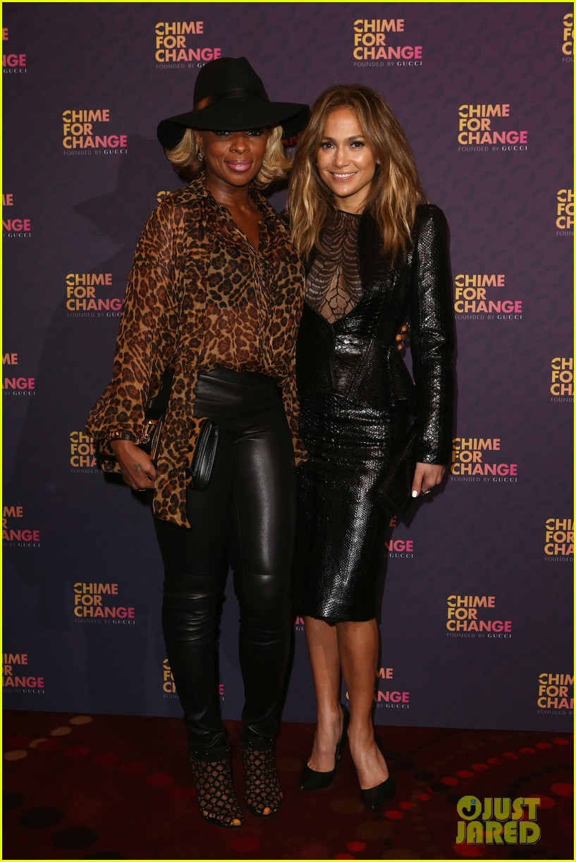 jennifer lopez mary j blige chime for change concert 012882131