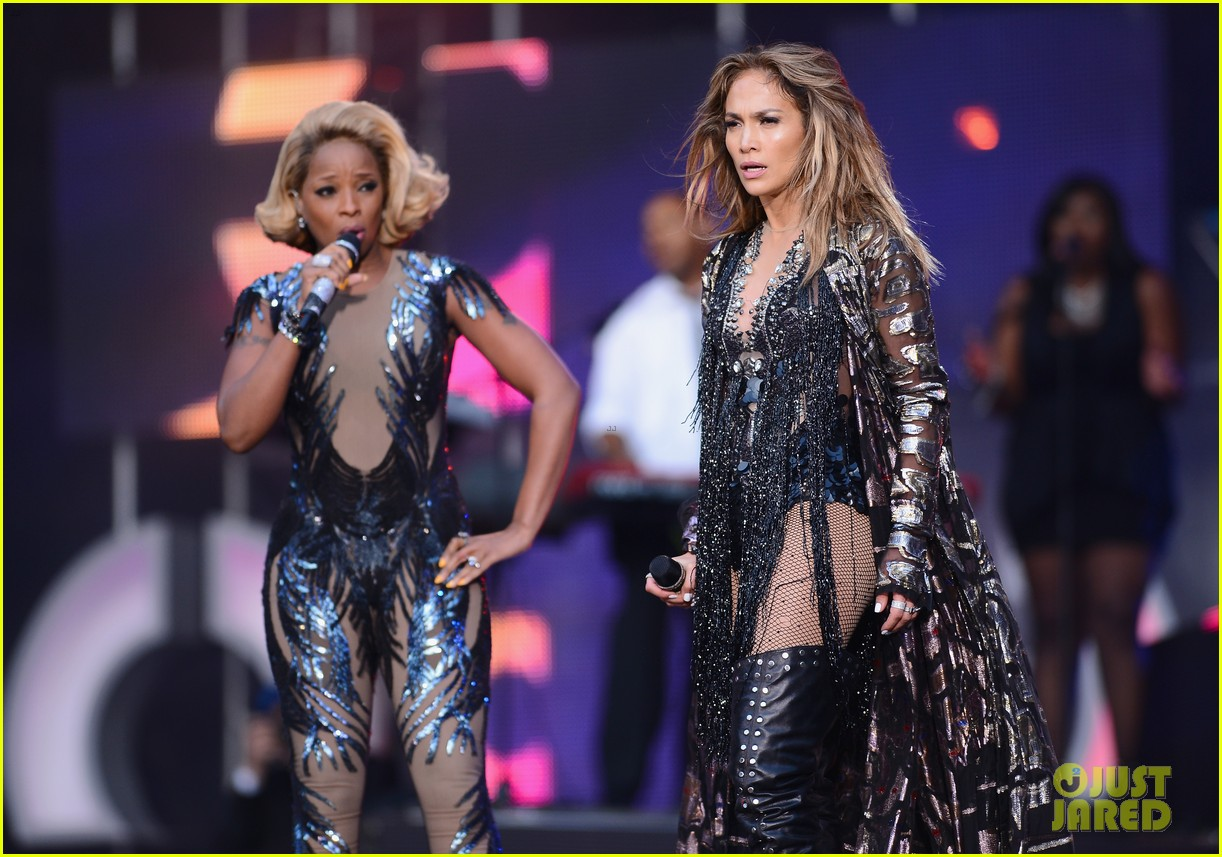 jennifer lopez mary j blige chime for change concert 08