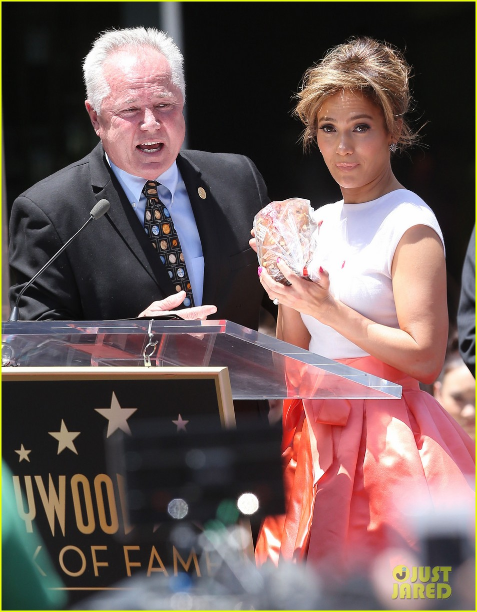 jennifer lopez receives star on hollywood walk of fame 302895213