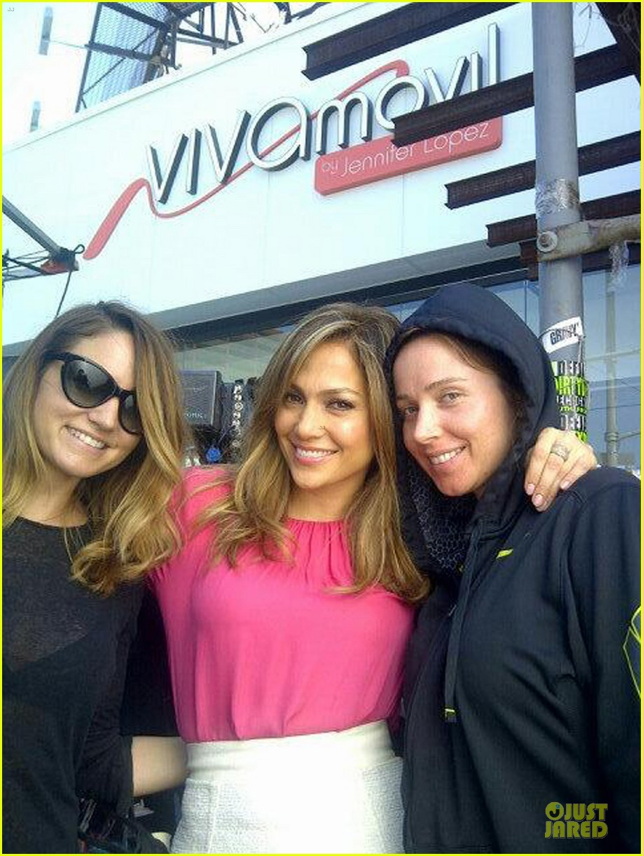 jennifer lopez viva movil commercial shoot 052891608