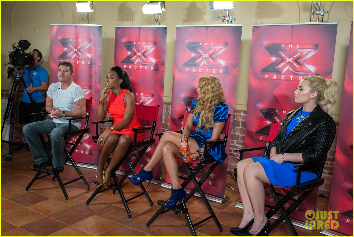 demi lovato kelly rowland x factor long island auditions 14
