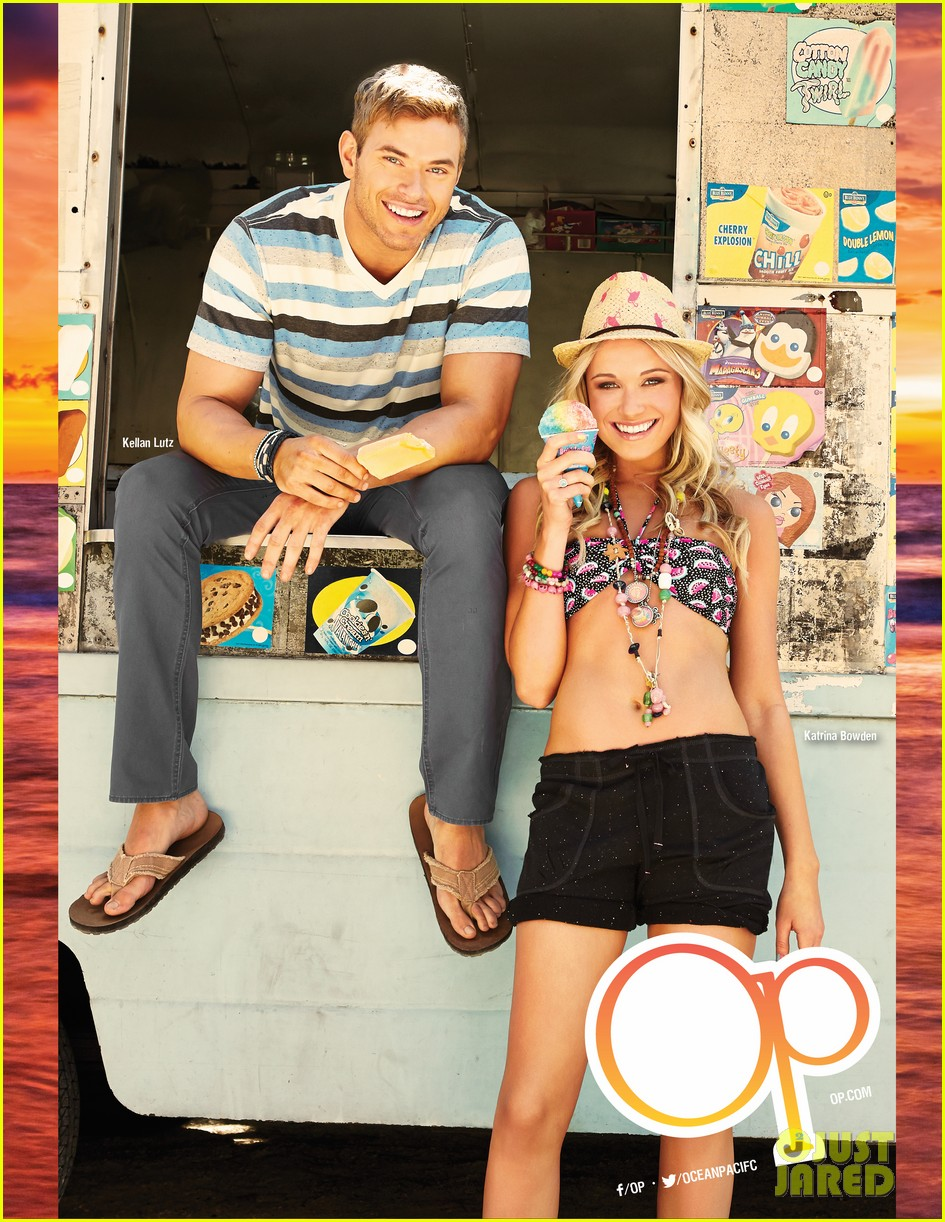 shirtless kellan lutz op summer 2013 images with katrina bowden 272898912