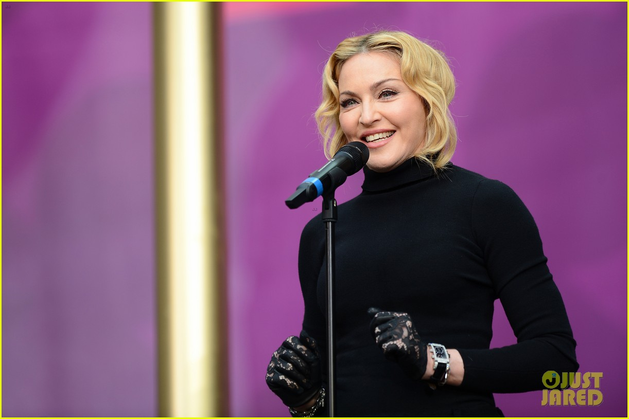 madonna speech at chime for change concert watch now 012882153