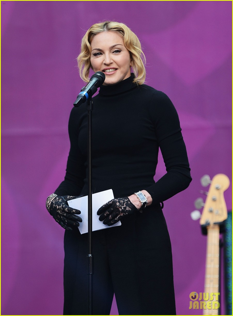 madonna speech at chime for change concert watch now 032882155