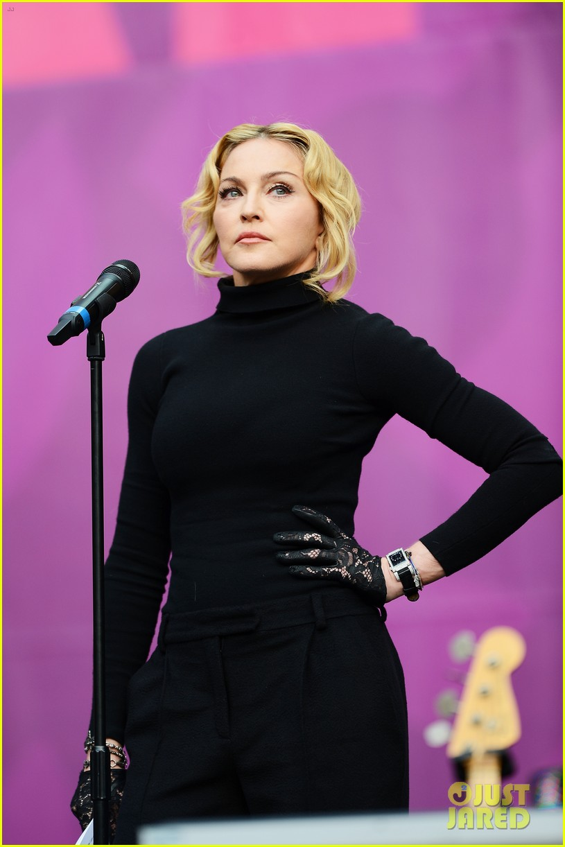 madonna speech at chime for change concert watch now 052882157