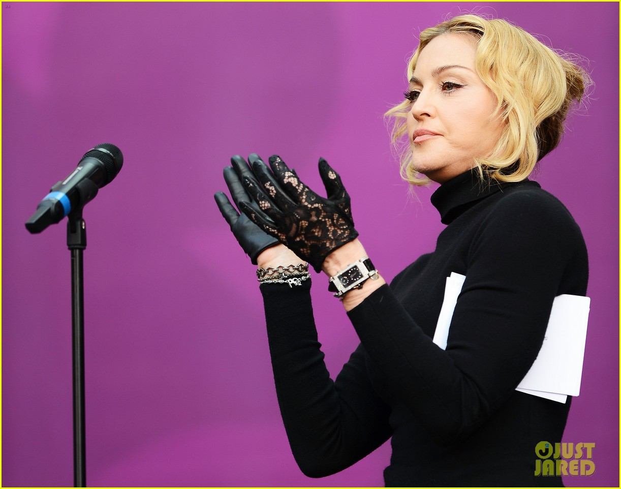 madonna speech at chime for change concert watch now 072882159