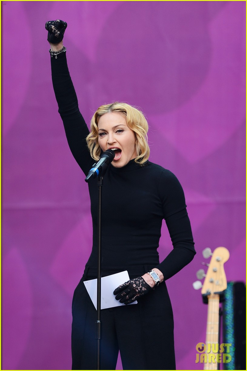 madonna speech at chime for change concert watch now 102882162