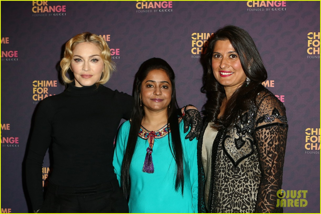 madonna speech at chime for change concert watch now 132882165