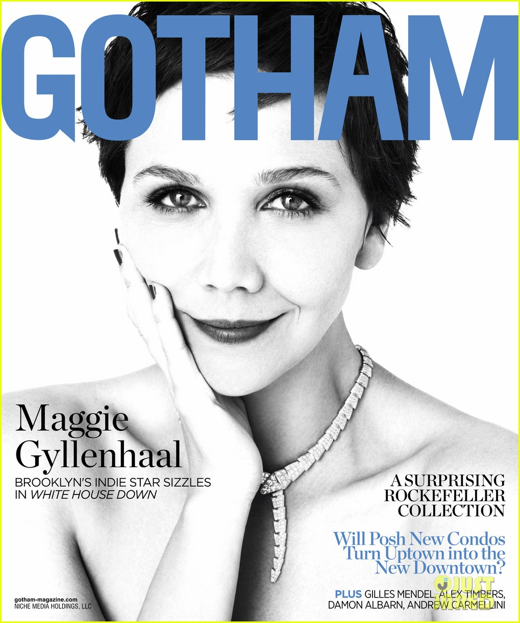 maggie gyllenhaal covers gotham celebrates cover 01
