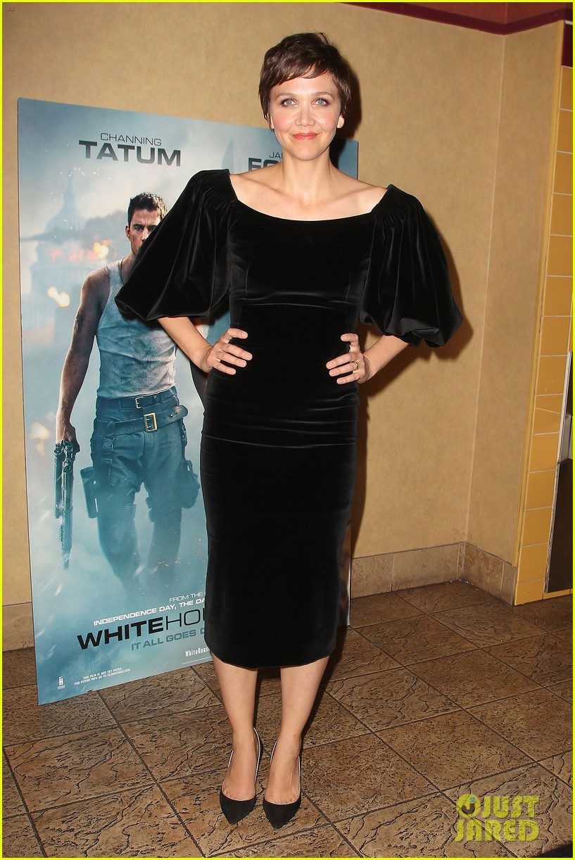 maggie gyllenhaal just jared white house down screening 052899192