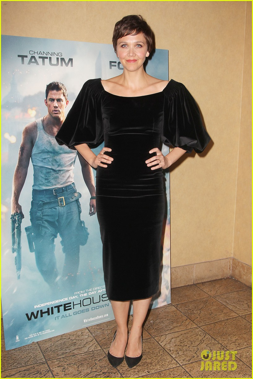 maggie gyllenhaal just jared white house down screening 062899193