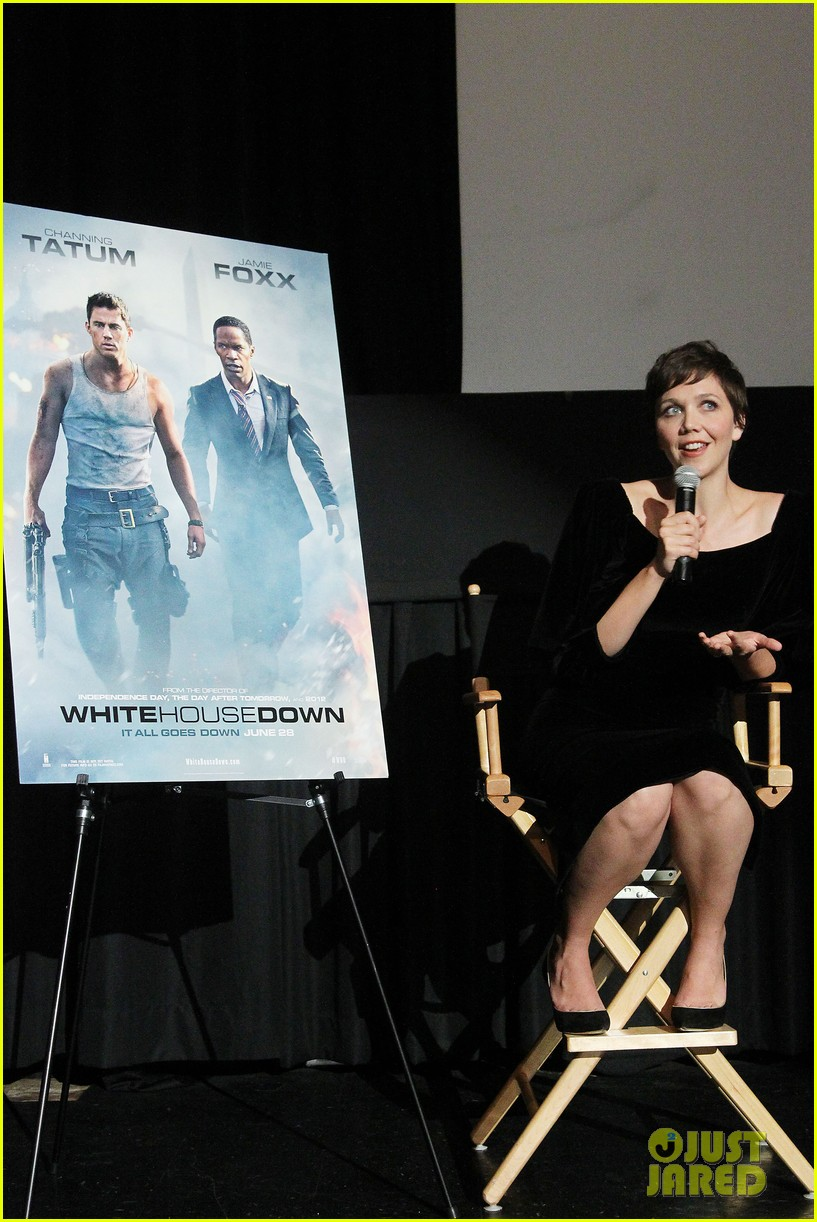 maggie gyllenhaal just jared white house down screening 112899198