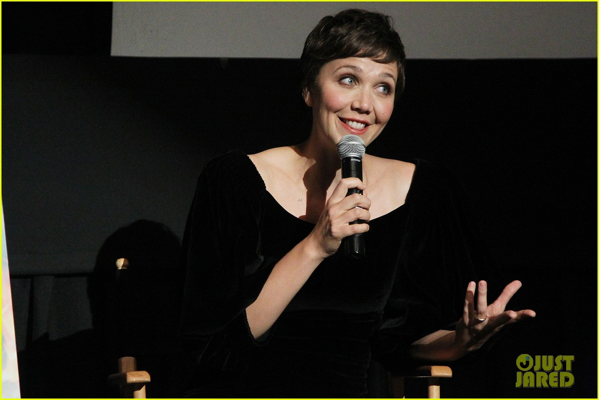 maggie gyllenhaal just jared white house down screening 122899199
