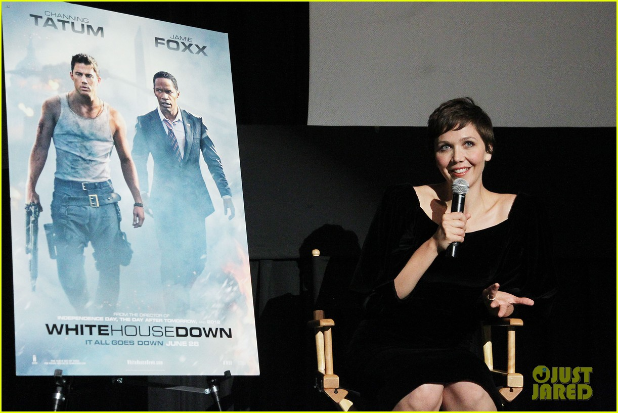 maggie gyllenhaal just jared white house down screening 132899200
