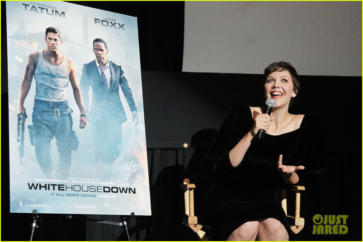 maggie gyllenhaal just jared white house down screening 142899201