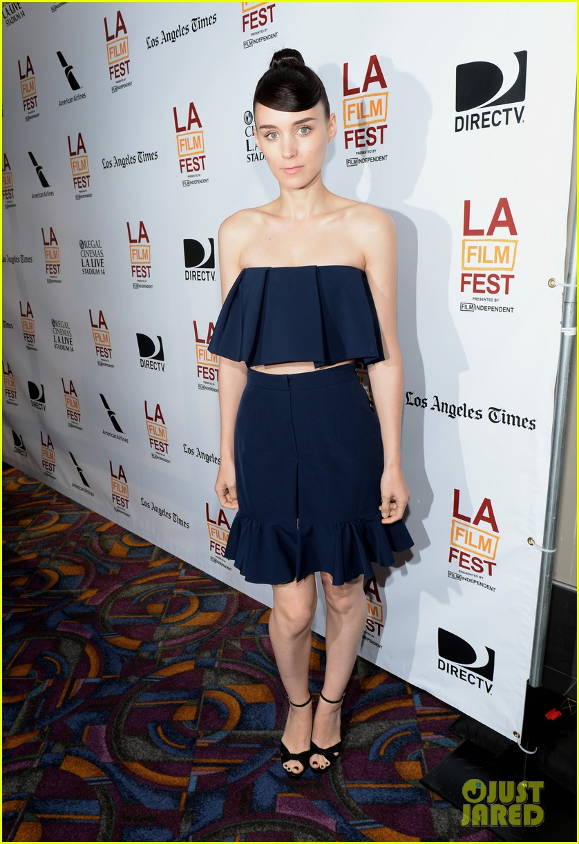 rooney mara aint them bodies saints at la film festival 012892047