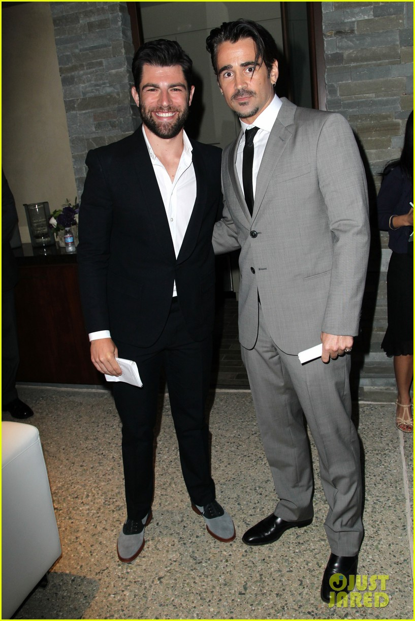 max greenfield colin farrell chrysalis butterfly ball 2013 with chris pine 02