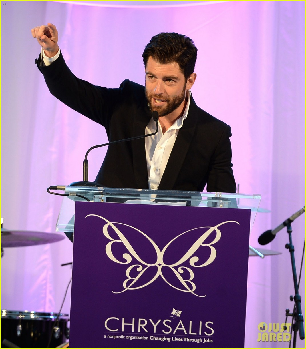 max greenfield colin farrell chrysalis butterfly ball 2013 with chris pine 062887575