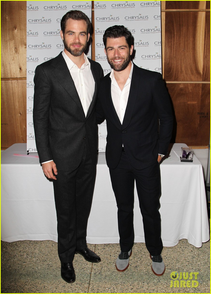 max greenfield colin farrell chrysalis butterfly ball 2013 with chris pine 082887577