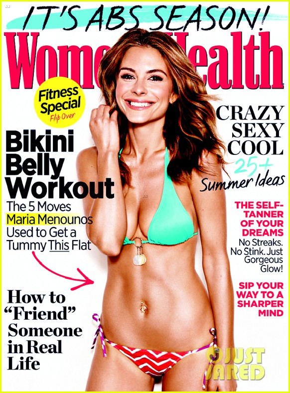 maria menounos flaunts bikini bod for womens health 012896655