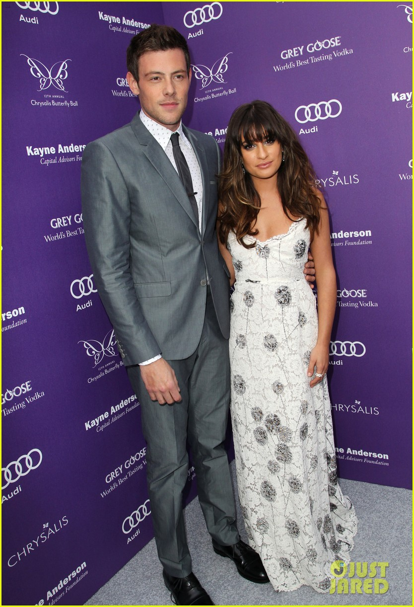 lea michele cory monteith chrysalis butterfly ball 05