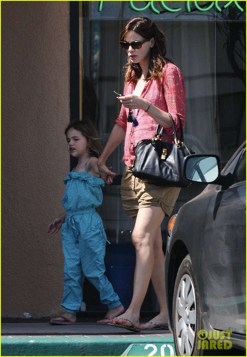 michelle monaghan visits the nail salon with willow 172896902