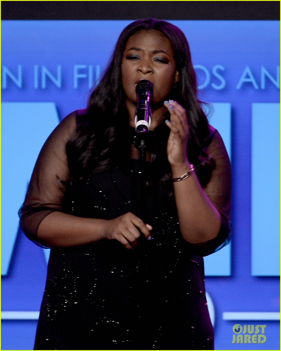 angie miller candice glover crystal lucy awards 2013 162890251