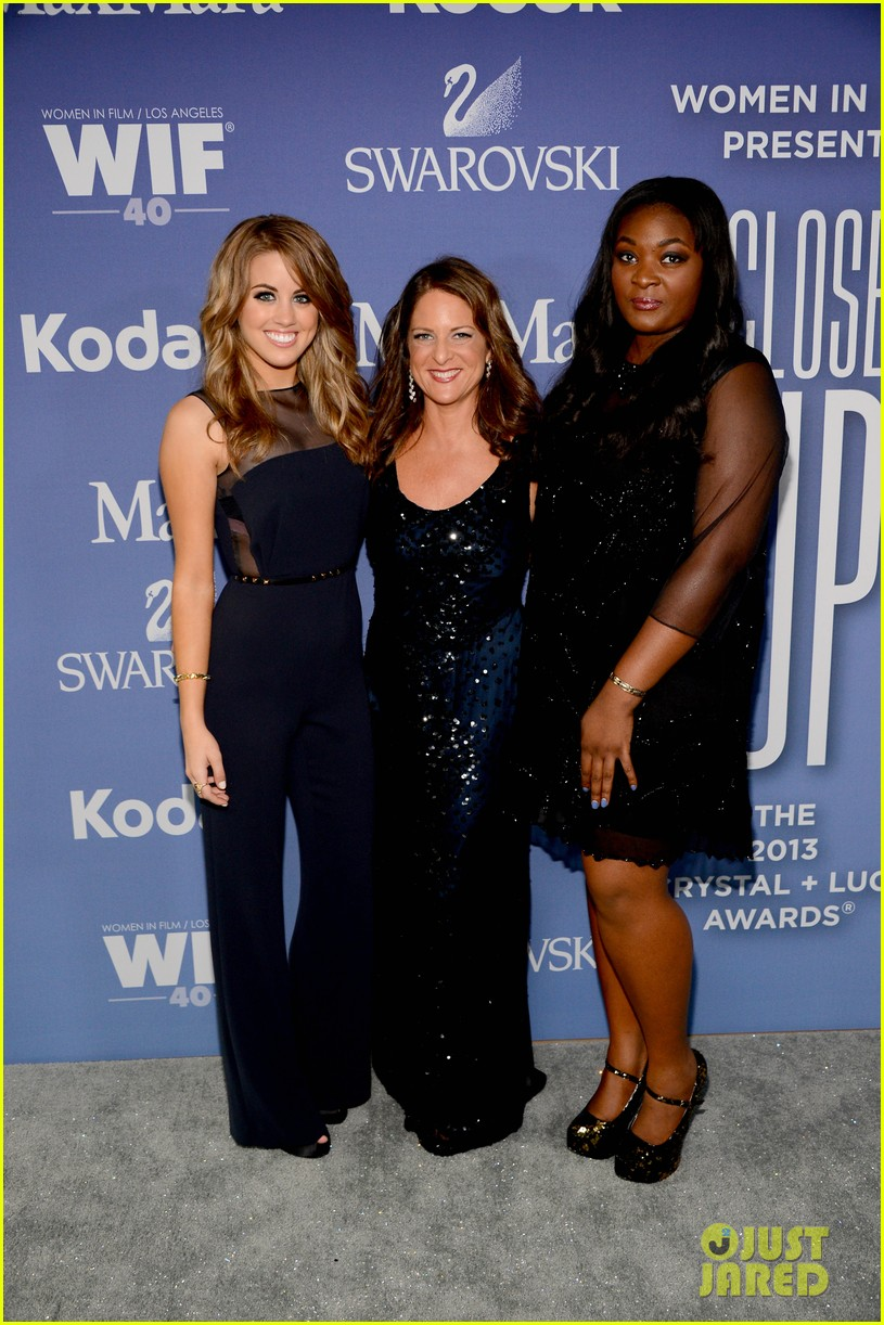 angie miller candice glover crystal lucy awards 2013 172890252