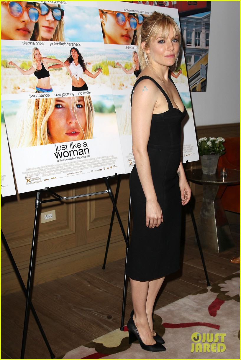sienna miller just like a woman special screening 152885488