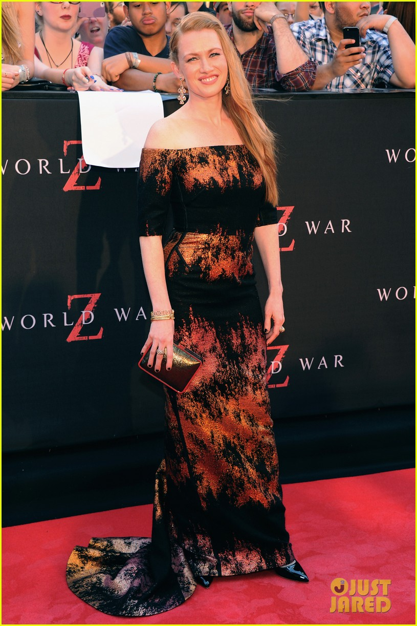 mireille enos james badge dale world war z premiere 062893218