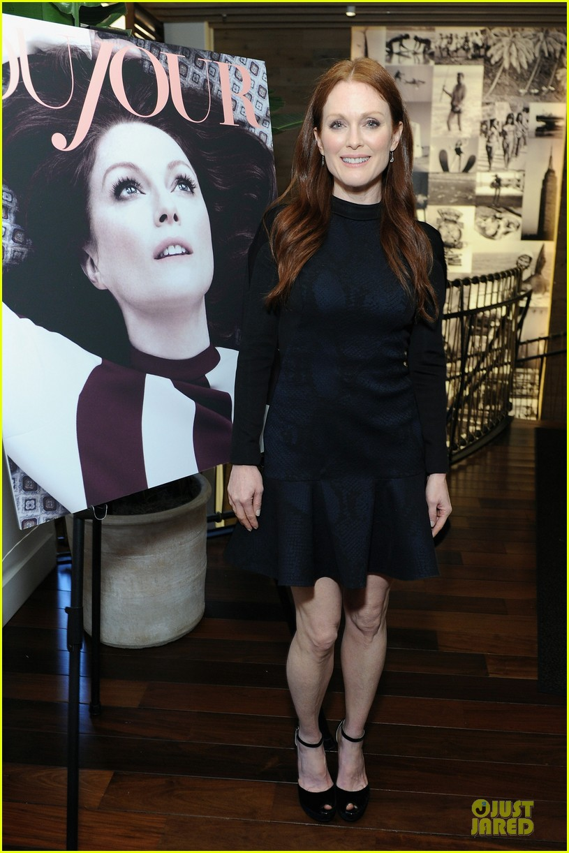 julianne moore dujour magazine summer issue cover party 012888642