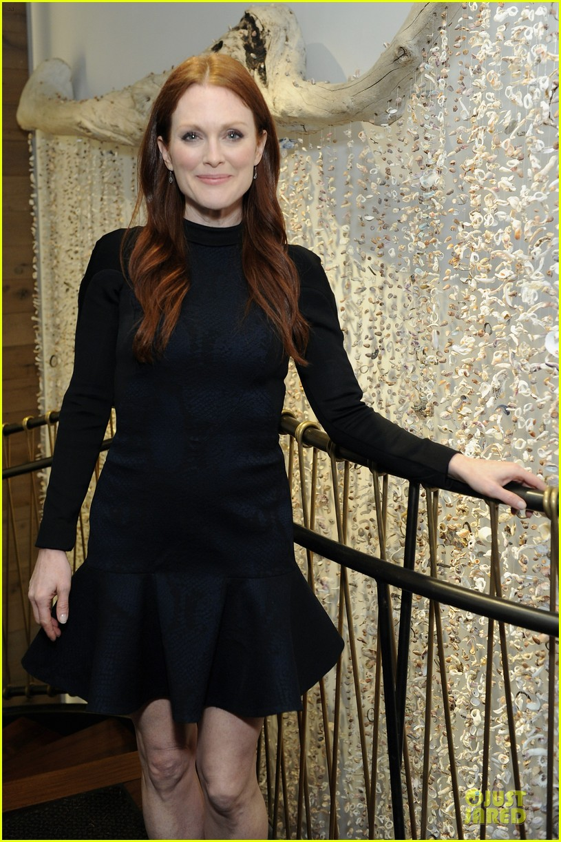 julianne moore dujour magazine summer issue cover party 02