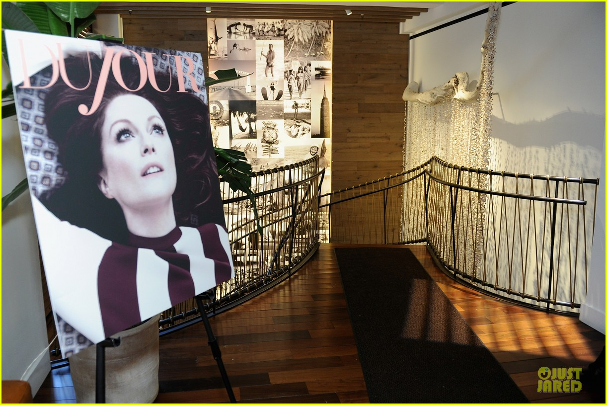 julianne moore dujour magazine summer issue cover party 152888656