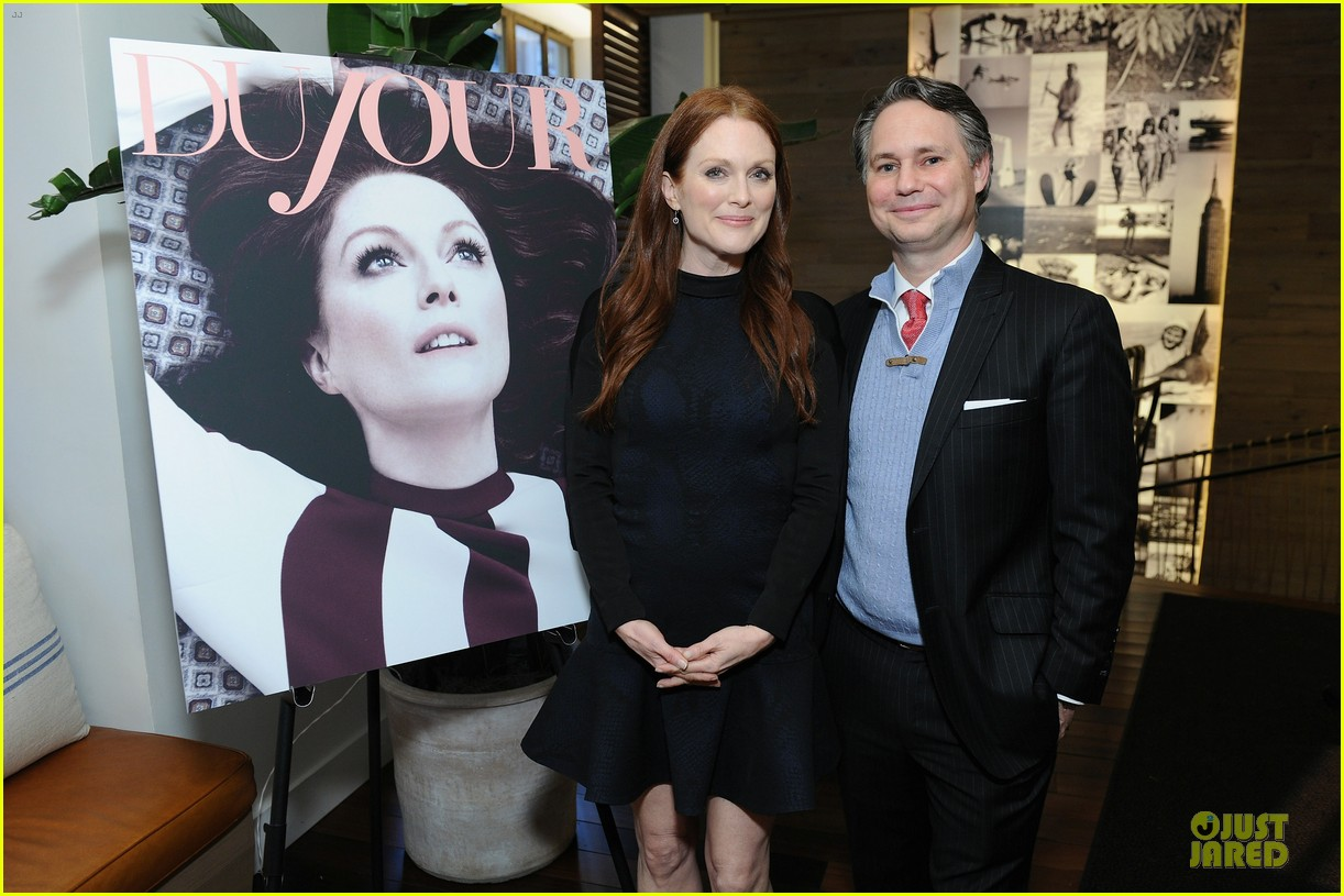 julianne moore dujour magazine summer issue cover party 17