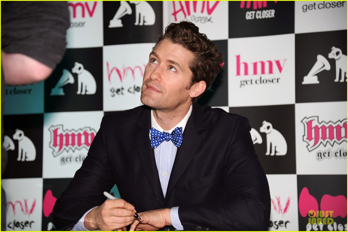 matthew morrison where it all began album signing 10