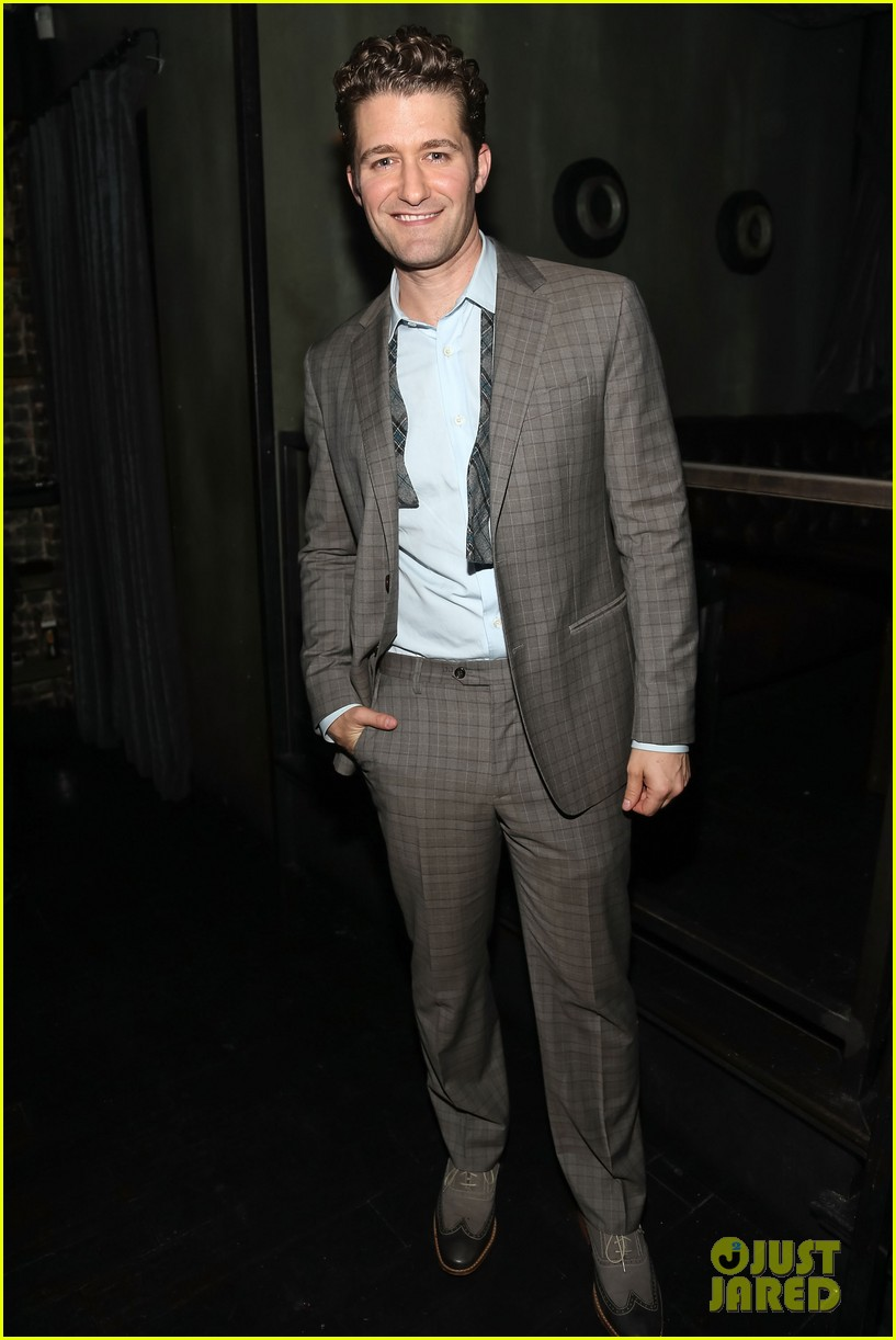 matthew morrison friends family show with colton haynes 022890756
