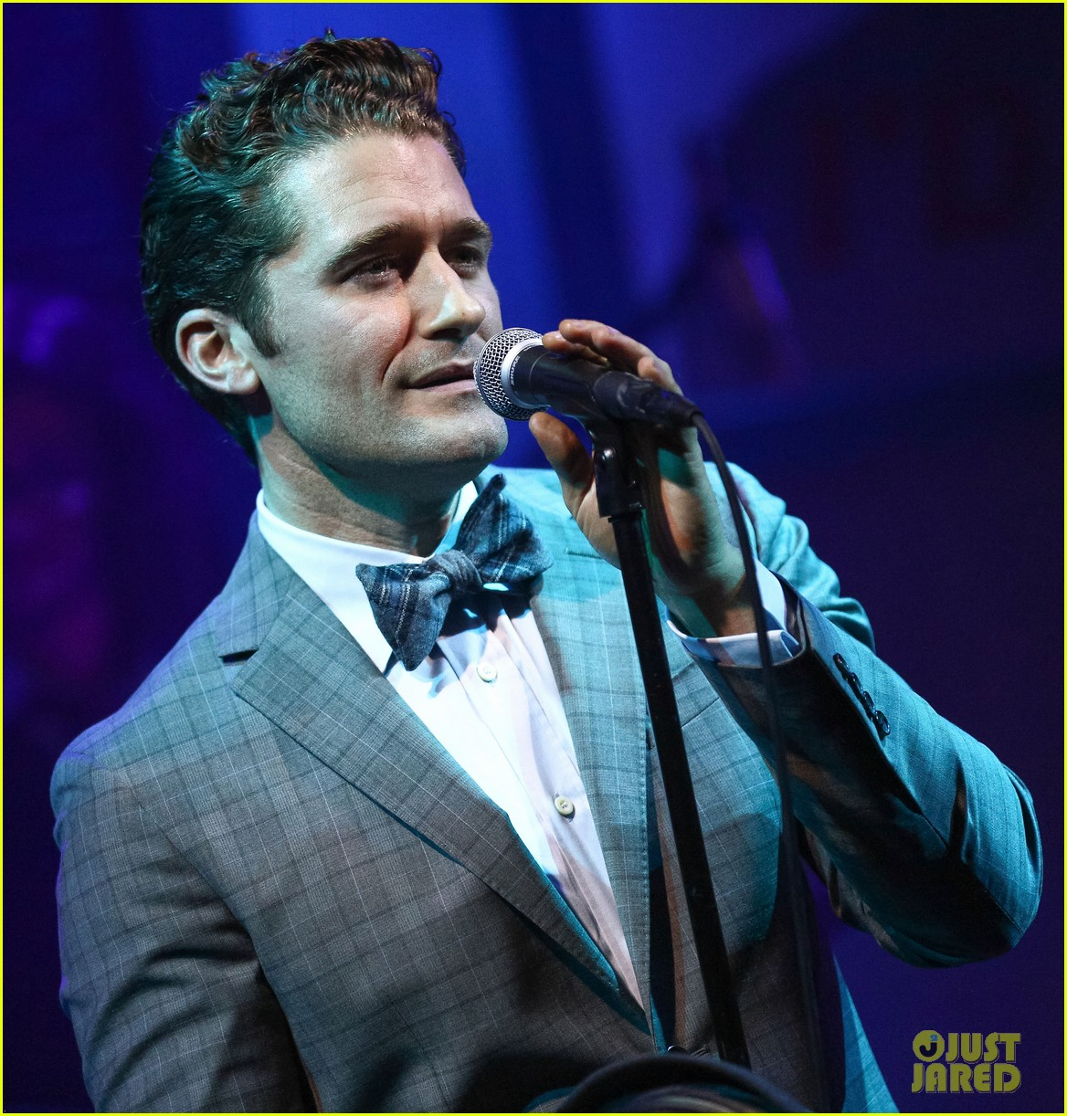 matthew morrison friends family show with colton haynes 082890762