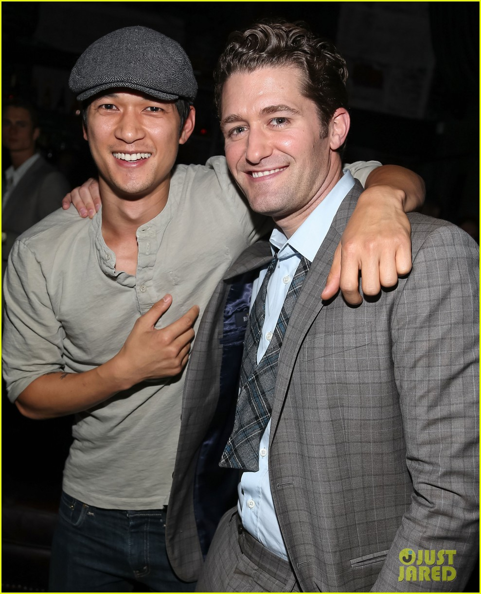 matthew morrison friends family show with colton haynes 272890781